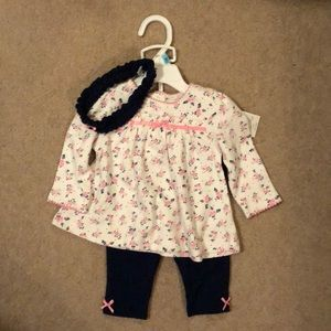 NWT Little Me outfit